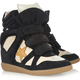 Isabel Marant Sneakers Bayley Black White Star